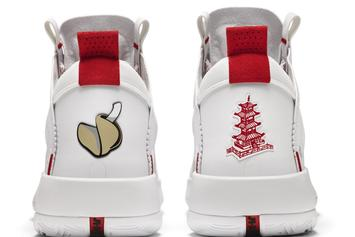 "Air Jordan 34 ""Chinese Takeout"" PE Unveiled By Celtics' Jayson Tatum"