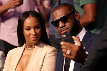 """LeBron James Pays Tribute To His Queen With """"Relationship Goals"""" Post"""