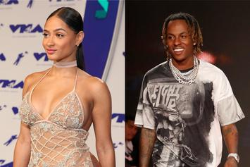 Rich The Kid & Tori Brixx Bring Some Tongue-Touching & Breast-Caressing To AMAs