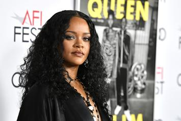 Rihanna Takes Photo With 12-Year Old Sensation Bouba Savage: See Pic
