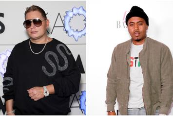 Scott Storch & Nas Link Up In The Studio: See Photo