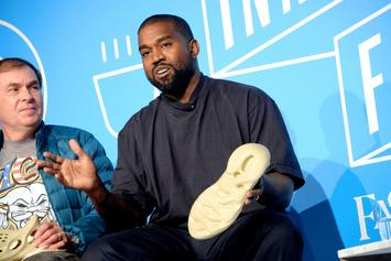 Kanye West Teases All-Red Yeezy Foam Runner Colorway: Photos