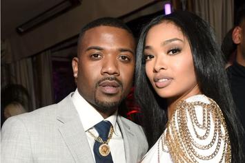 "Ray J Says Princess Love ""Is Still Mad At Me,"" Celebrates ""Black Love"""