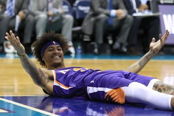 Kelly Oubre Savagely Stares Down Brandon Ingram After Dunk: Watch