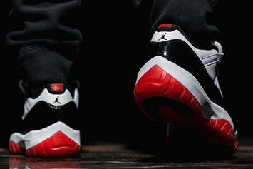 "Air Jordan 11 Low ""White Bred"" Dropping Next Year: On-Foot Photos"