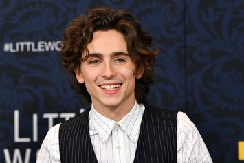 Timothée Chalamet Explains How Nervous He Was At Kid Cudi's Birthday With Kanye West