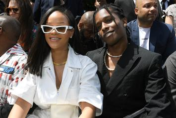 Rihanna Spotted At A$AP Rocky's Show In Sweden: Watch