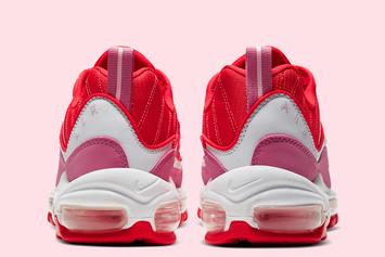 """Nike Air Max 98 """"Valentine's Day"""" Brings The Lover Vibes: Official Photos"""