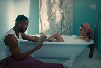 "Snoh Aalegra & Michael B. Jordan Are A Couple In Love In Visual For Her Single ""Whoa"""