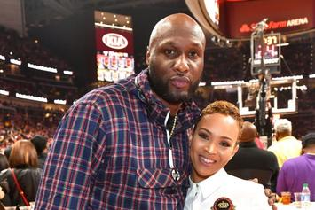 "Lamar Odom Thirsts Over Sabrina Parr's Topless Photo: ""100% Natural"""