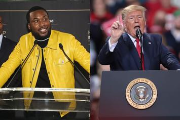 "Meek Mill On Trump's Impeachment: ""He Should Go Live On The Gram"""
