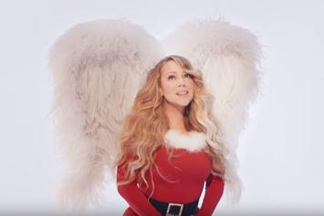 "Mariah Carey Revamps ""All I Want For Christmas Is You"" Video, Includes Twins Moroccan & Monroe"