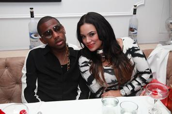 Fabolous, Emily B & Kids Stunt With White Fur Coats On Christmas