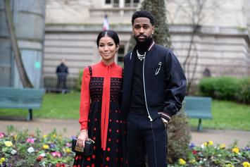 Big Sean Rocks Hoodie With Jhené Aiko On It While They Spend Christmas Together