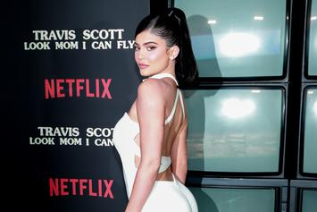 Kylie Jenner Looks Unreal In Skintight Dress While Plugging Justin Bieber's New Single