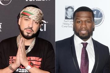 "50 Cent Shares Video To Prove That French Montana ""Switch Sides A Lot"""