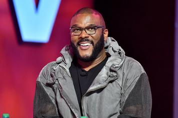 """Tyler Perry Flexes """"Work Ethic"""" & Reveals He Writes All Of His Shows By Himself"""