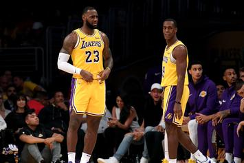 LeBron James & Rajon Rondo Confront Bobby Portis After KCP Hit