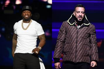 50 Cent Shades French Montana While Praising Avatar-Inspired Benz