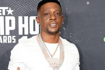 """Boosie Catches Fraternity Fire & Brimstone Over """"Kappa Alpha Psi"""" Sweater"""