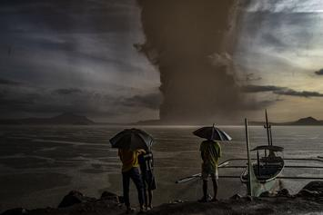 Thousands Evacuate As Massive Volcano Erupts In Philippines