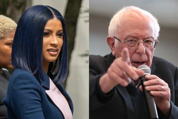 "Cardi B Gets Political Co-Sign From Bernie Sanders: ""It Would Be Great"""