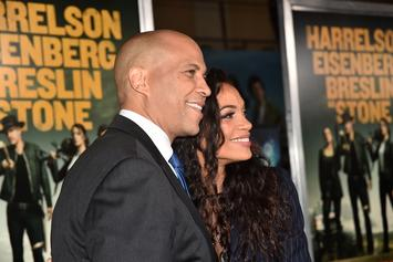 Rosario Dawson Reacts To Boyfriend, Cory Booker Leaving The Presidential Race