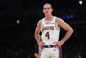 Alex Caruso Reacts To His Rampant Fanbase Amid All-Star Votes