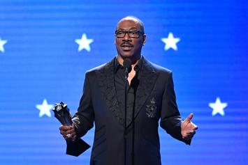 """Eddie Murphy Shares Bad Advice From Rodney Dangerfield: """"Dunno About The Race Stuff"""""""