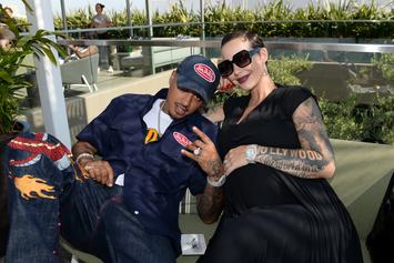Did Amber Rose Just Reveal She's Married To AE?