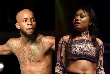 """Tory Lanez Grinds On Megan Thee Stallion's Booty & Realizes They're """"Evil Twins"""""""