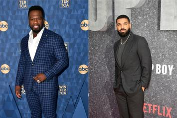 """50 Cent Says Drake Citing Him As An Influence To Sing Is """"The Coolest Sh*t In The World"""""""
