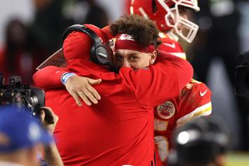 Patrick Mahomes & Andy Reid Party It Up After Huge Win: Watch