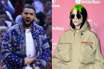 Billie Eilish Defends Drake Against Backlash For Texting Her