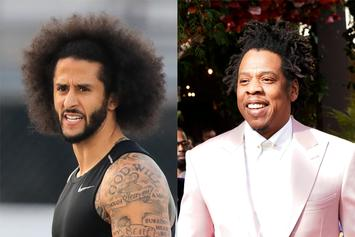 "Colin Kaepernick Wonders Why Jay-Z Sat For Anthem After ""Passed Kneeling"" Comment"