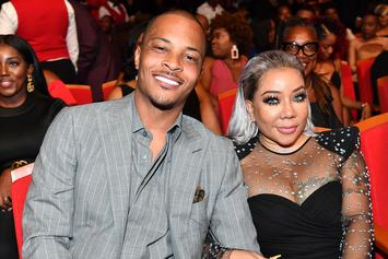"T.I. Calls Out Tiny For Staring At His Cakes: ""My Eyes Are Up Here"""
