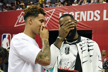 Skip Bayless Blames LeBron James For Not Letting Kyle Kuzma Fit In