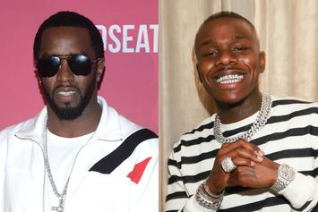 """Diddy Gifts DaBaby's """"Lil One"""" $1K In Cash & Advises Him To """"Always Pay Your Taxes"""""""