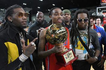 Quavo, Bad Bunny, Darius Miles Highlight 2020 Celebrity All Star Game Participants