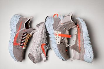 "Nike Introduces ""Space Hippie"" Sneaker Line Made From Trash"