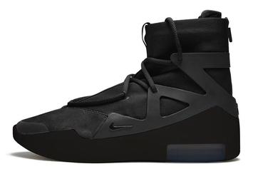 "Nike Air Fear Of God 1 ""Triple Black"" Releasing On Valentine's Day: What To Expect"