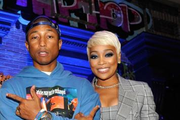 "Monica Shares Clip Of Studio Session With Pharrell Williams: ""I Just Wanna Sing"""