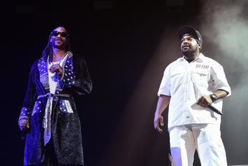 """Ice Cube's Story Of Meeting Snoop Dogg: """"I'm Not Gettin' In The Water With Death Row!"""""""