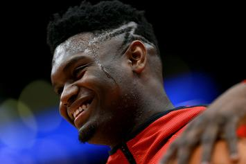 Carmelo Anthony Praises 'Incomparable' Zion Williamson