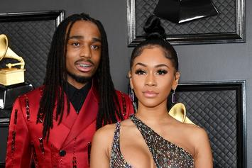 "Quavo Pranks Saweetie With The ""Broom Challenge"" That's Sweeping The Nation"
