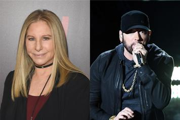 """Barbara Streisand Voted For Eminem's """"Lose Yourself"""" At 2003 Oscars"""