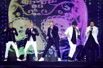 "The Backstreet Boys Join Jimmy Fallon To Perform ""The Thong Song"""