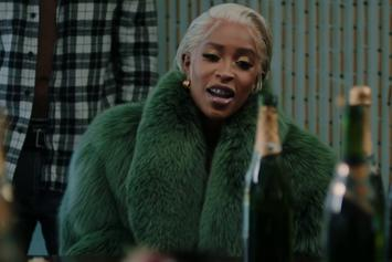 "Dej Loaf Leads A Celebration In ""Bubbly"" Video"