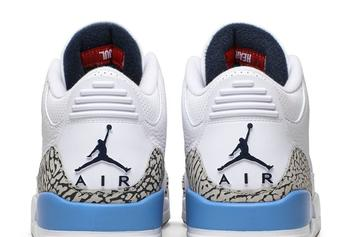 """Air Jordan 3 """"UNC"""" Pegged For March Release: Official Photos"""