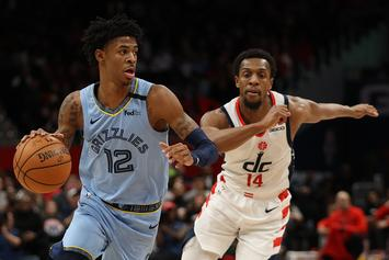 """Ja Morant Pays Homage To Vince Carter With """"Honey Dip"""" Dunk"""